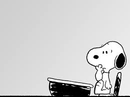 snoopy indeciso
